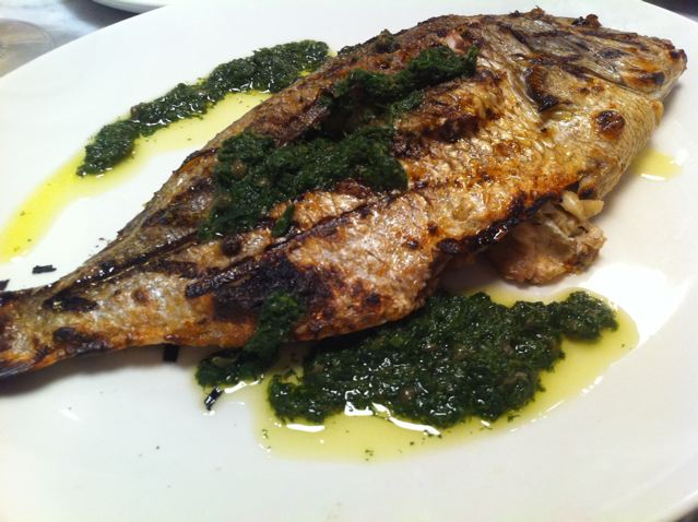 Eatdavelove eataly fish porgy for Porgy fish recipe