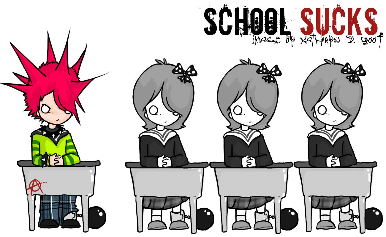 hate school