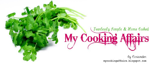 My Cooking Affairs: Fearlessly Simple & Home Cooked