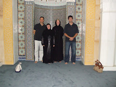 Group photo in the Grand Mosque