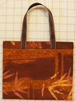 1 yard, 1 hour tote bag
