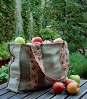 Apple Picking Tote