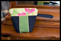 toiletry / make up bag