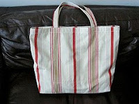 cheap and cheery beach bag