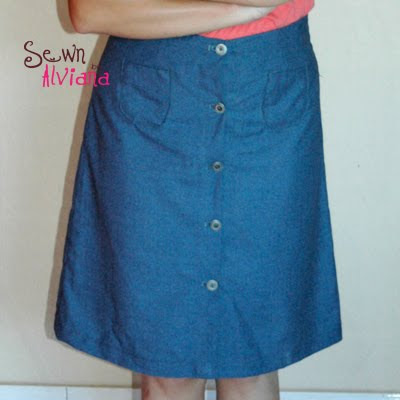 Make a Tote Bag from a Denim Skirt - All About Quilting, with