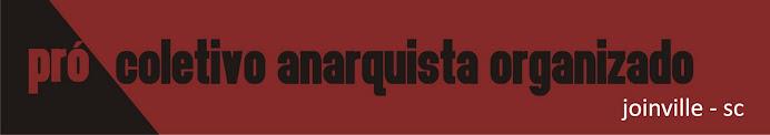 Pró-Coletivo Anarquista Organizado. Joinville-SC