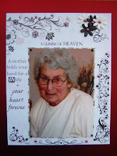 I am Dedicating my Blog to my Beautiful Mum        1940-2008
