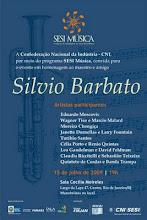Homenagem - Sílvio Barbato