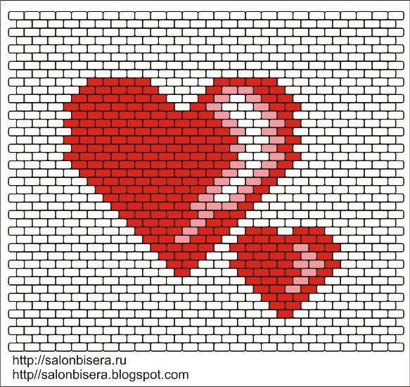 Схема сердца из