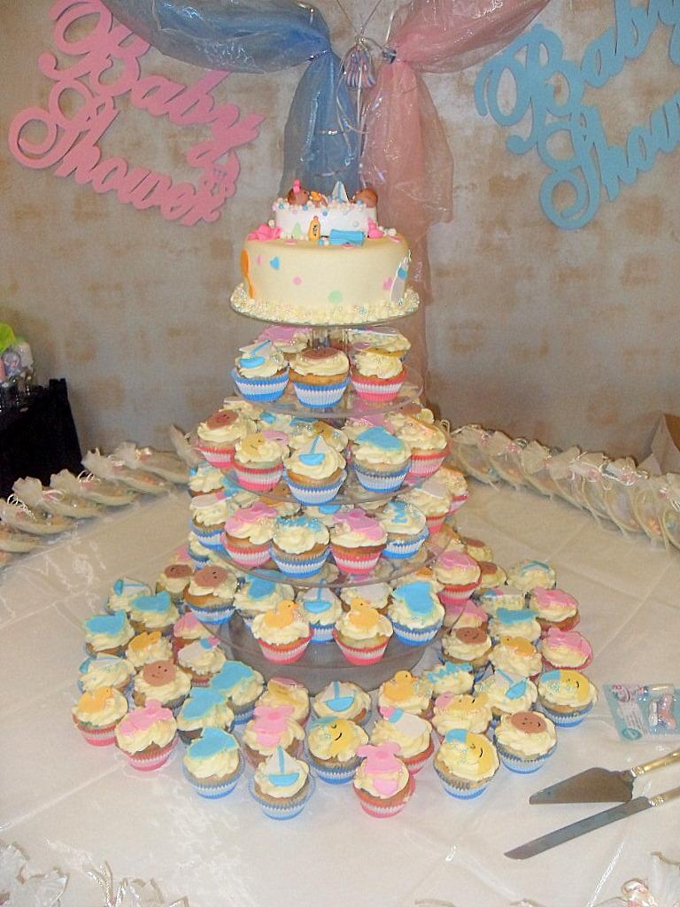 Baby Shower Cupcakes -- Utah Custom Cupcakes