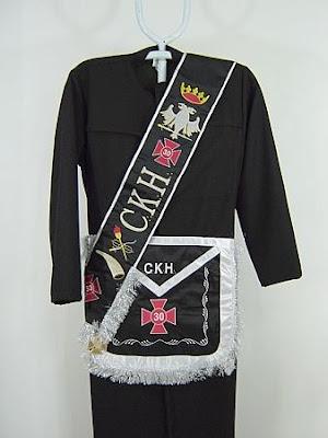 Rito Escocês Antigo e Aceito: Grau 30 Cavaleiro Kadosch ou Cavaleiro da Águia Branca e Negra