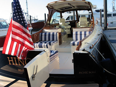 The Maine-based builder has updated its trademarked Picnic Boat with the new ...