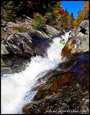 North Carolina toxaway slide kayak whitewater chaos WhereIsBaer.com Chris Baer