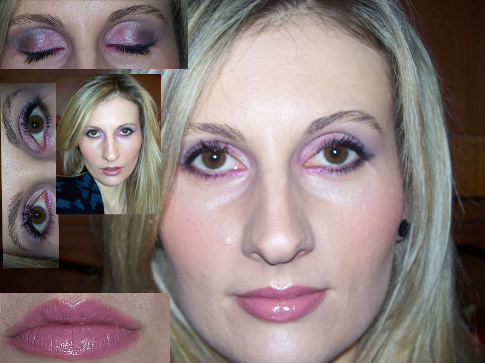 pink smokey eye makeup. PINK SMOKY EYE (A Make Up
