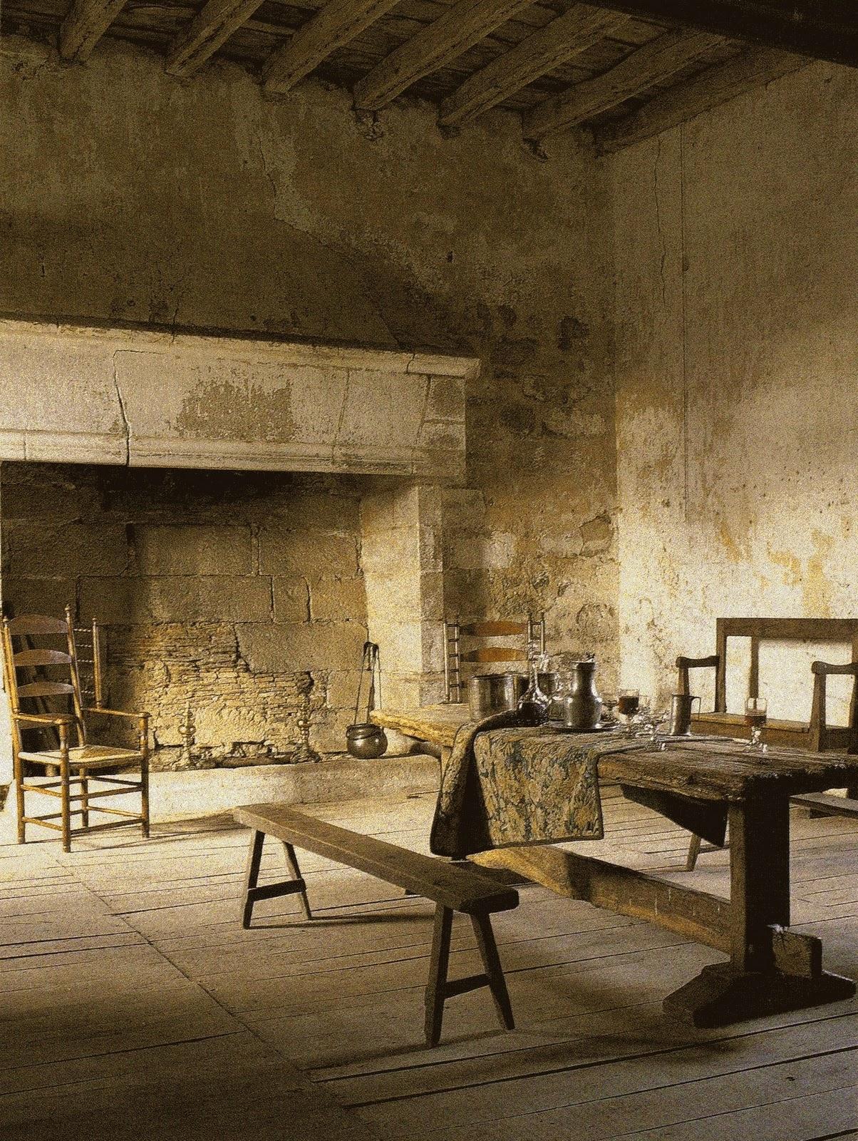 La maison boheme artist 39 s light for French country stone fireplace