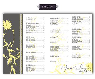 vintage floral seating chart template design layout
