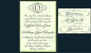 custom wedding invitation design pocketfold inserts