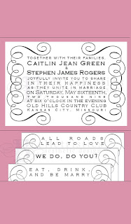 custom wedding invitation design pocketfold