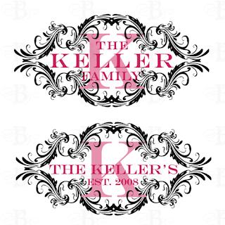 family crest logo design