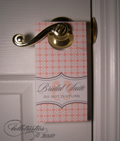 free printable door hanger design