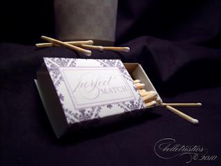 free diy wedding flourish damask votive wrap