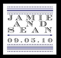 custom typography wedding monogram design