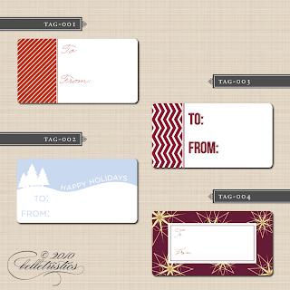 printable holiday christmas gift tags labels