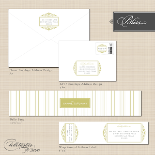 printable diy wedding envelope address designs