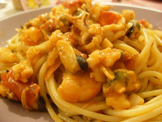 Ricettina Spaghetti Ai Frutti Di Mare