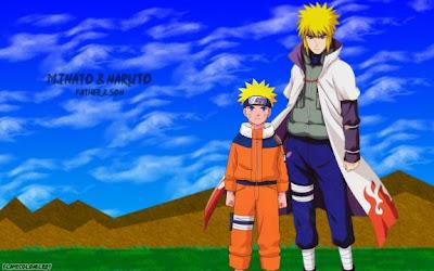 Imagenes Naruto: Padre e Hijo