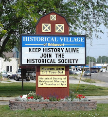 Historical Village Sign