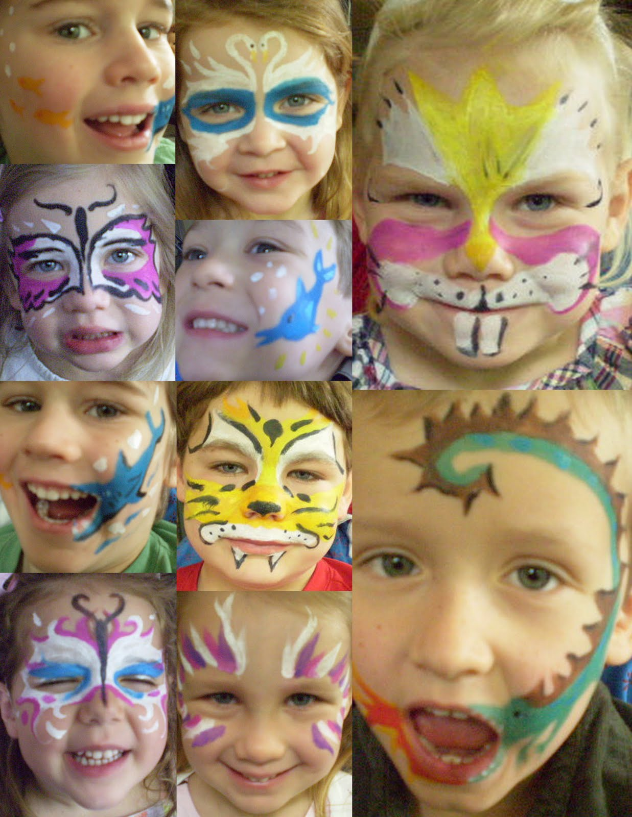 three finch studios face painting for birthday parties