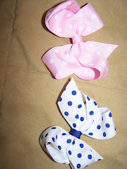 Polka Dot Hairbows