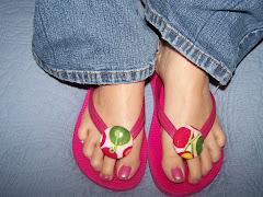 Cute Adult Flip Flops
