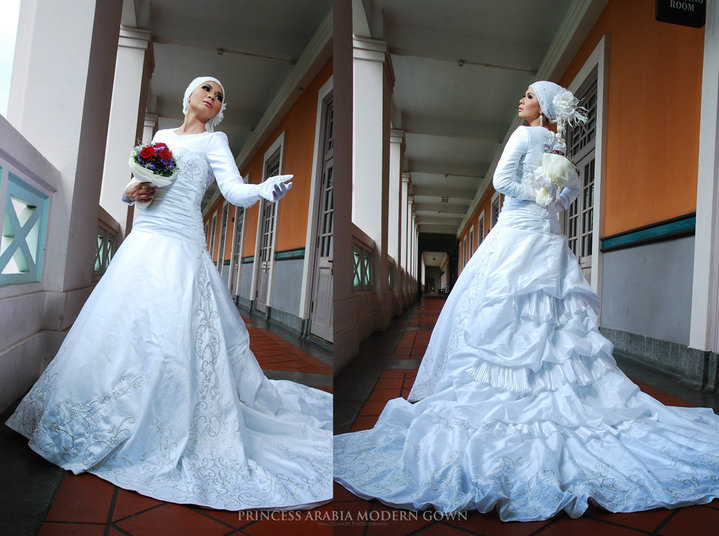 Pics Of Muslim Wedding Gowns : Muslim proposals wedding dreams come true white