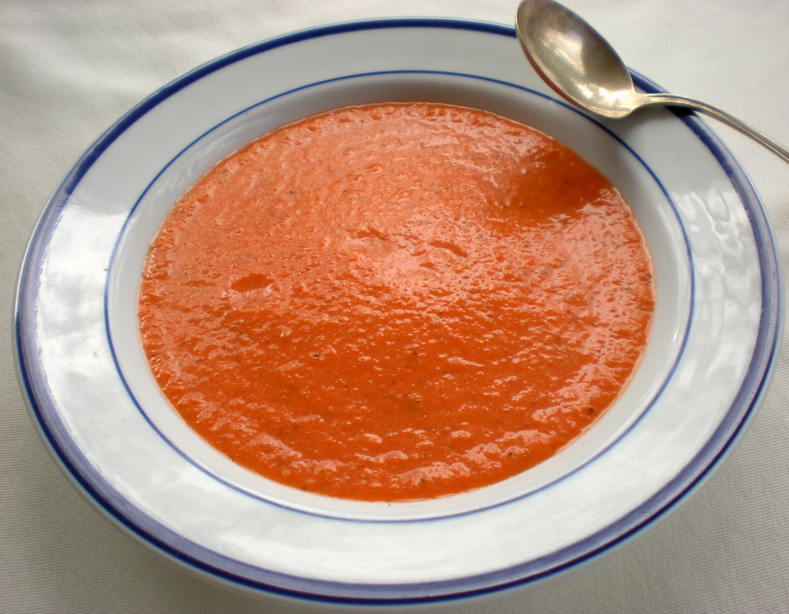Tomato soup by Lucy Mercer/A Cook and Her Books