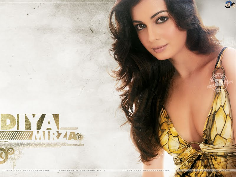Diya Mirza Hot Wallpapers,