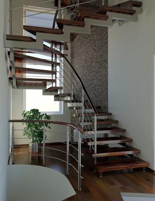 Rumah Design on Design Rumah Minimalis  Mendesain Railing Tangga