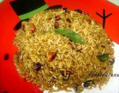 recipe for puliyodharai tamarind rice ingredients rice 2 cups tamarind ...