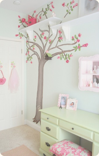 Murals on pinterest wall murals paint ideas and monster for Cherry tree mural