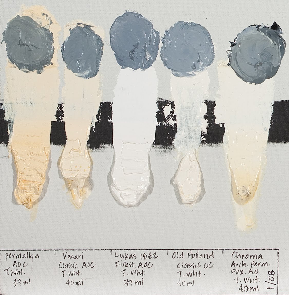 Theory and practice the white test 5 years in the making supposedly white whites nvjuhfo Image collections