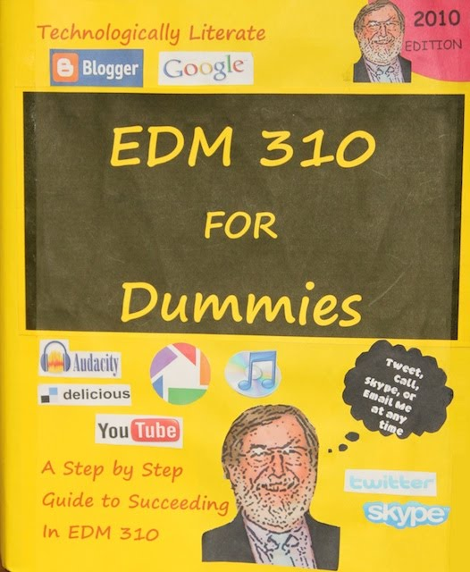 This is a picture of the EDM310 is for Dummies book.
