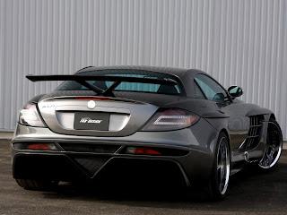Mercedes Benz SLR Mclaren tunada