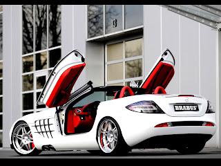 Mercedes Benz SLR Mclaren Tunig Style