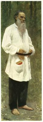 Портрет л н толстого 1891 г холст