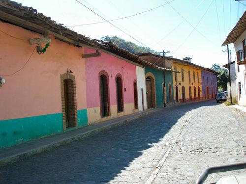 Pueblo de Real de Arriba en el municipio de Temascaltepec