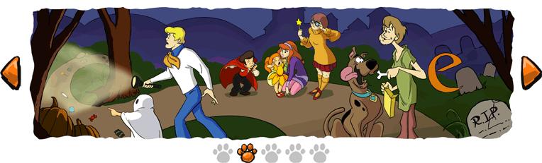 Segunda Imagen de la tira de Scooby Doo que publico para Halloween
