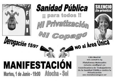 [Madrid] HOY manifestación por la sanidad pública Cartel+Escuela