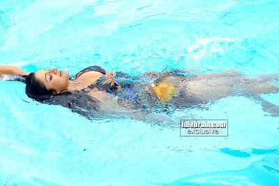 Spicy Vimala Raman In Swimsuit