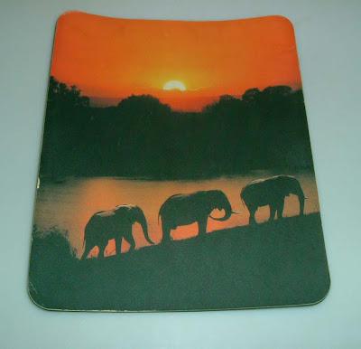 Elefántos egérpad